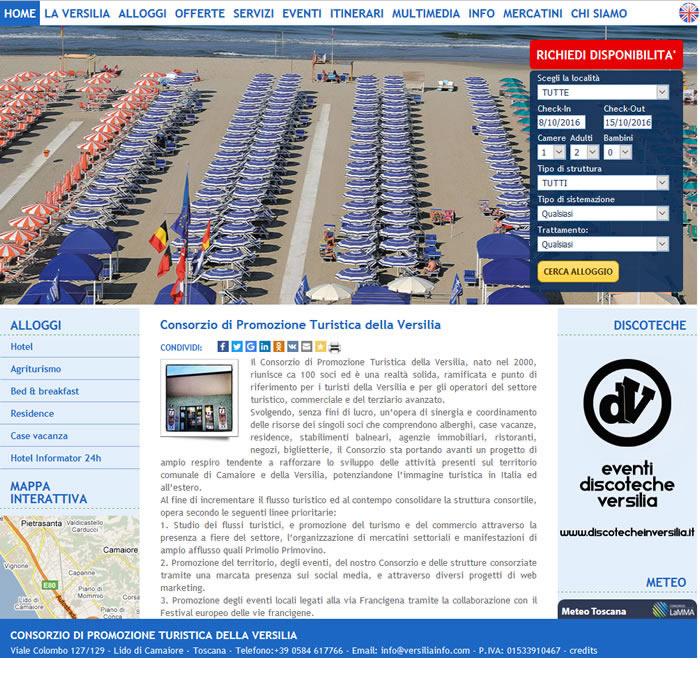 Realizzazione portali web dedicati alla promozione turistica