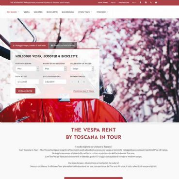 Online booking system for auto, bikes and bicycles